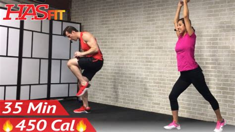 35 min standing abs low impact cardio hasfit free length workout and fitness