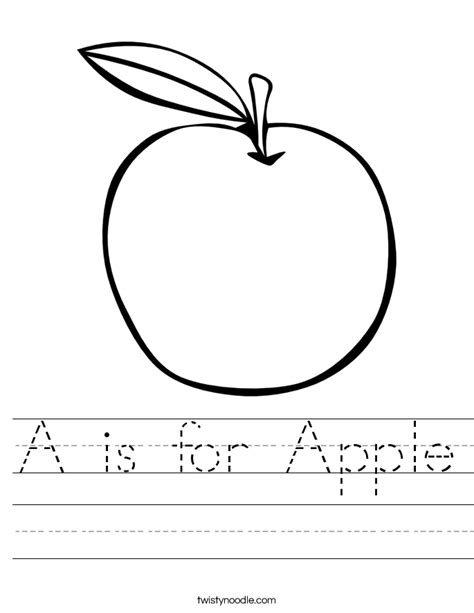 Galerry coloring page apple