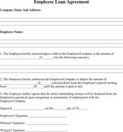 employee loan agreement template the employee loan agreement 1 can help you make a