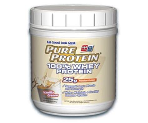 Acting Protein Protein 100 Whey Powder Vanilla Creme 1 Pound Tub