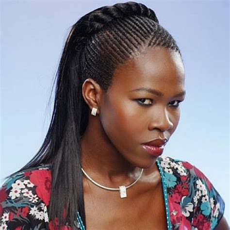 cornrow hairstyles for black women with part in the middle new 2014 cornrow hairstyles for women