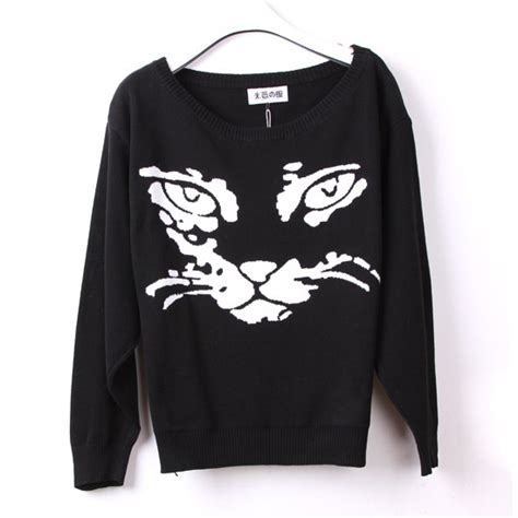 Turtleneck Cat Sweater the cat turtleneck sweater nfjt0014 on luulla