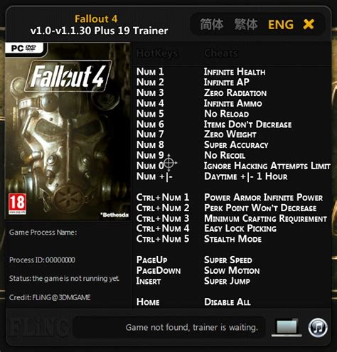 fallout 3 console cheats fallout 3 cheats and codes for pc codes