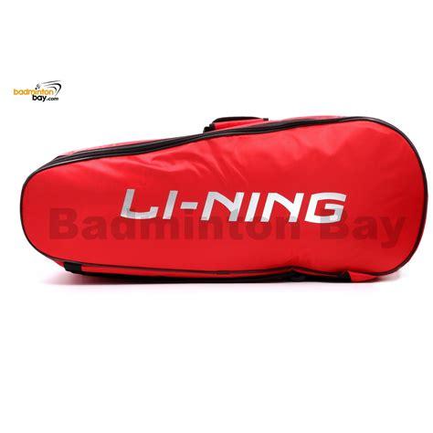 Li Ning Badminton Bag Absm294 li ning 2 compartments non thermal badminton racket bag