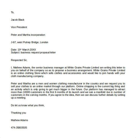 Offer Letter To Sell Product 32 Sle Business Letters