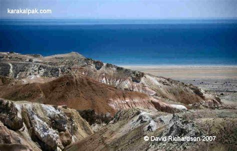 Volcanic Beach The Aral Sea