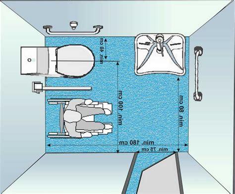 dimensioni bagno disabile trovare bagno disabili misure progette idee per casa