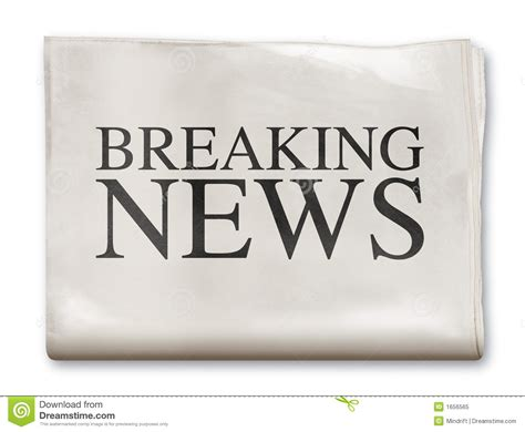 Royalty Free Newspaper Pictures Images And Stock Photos Istock Newspaper Breaking News Stock Image Image Of News Financial 1656565