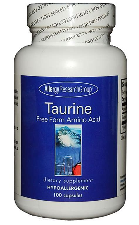 Taurine Also Search For Taurine 100 S The Dispensary