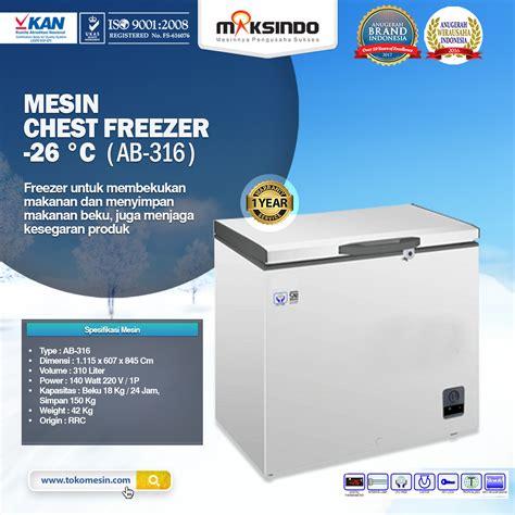 Jual Freezer Box Bekas Bekasi jual mesin chest freezer 26 176 c di bekasi toko mesin