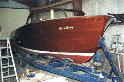 shepherd boats niagara on the lake woodwind yachts classic wooden boat restoration repairs