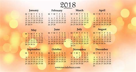 Or 2018 Free 2018 Calendar Word Free Blank Calendar 2018 Word Excel Pdf
