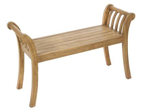 banqueta madera banqueta de madera de acacia natural con brazos