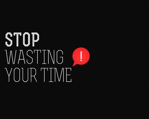 Your Time Wasters by 5 Exercises To Stop Doing Now