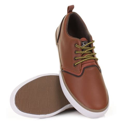 Quicksilver Leather 1 mens quiksilver rf1 low fg brown black gum leather