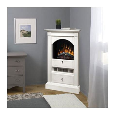 White Electric Corner Fireplace by Dimplex Chelsea White Corner Electric Fireplace At Hayneedle