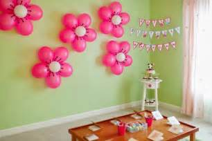 Simple Birthday Decoration Ideas At Home Simple And Easy Birthday Balloon Decorations Creative Things