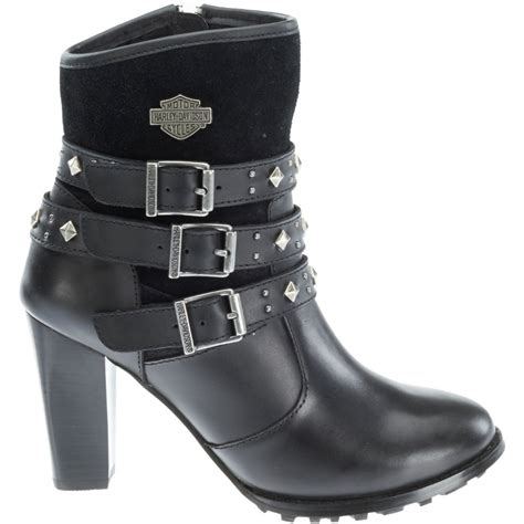 Harley Davidson Boots Womens by Harley Davidson Womens 6 Inch Side Zip Motorcycle