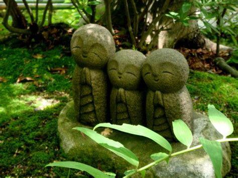 chibi jizo statues somewhere in japan carved