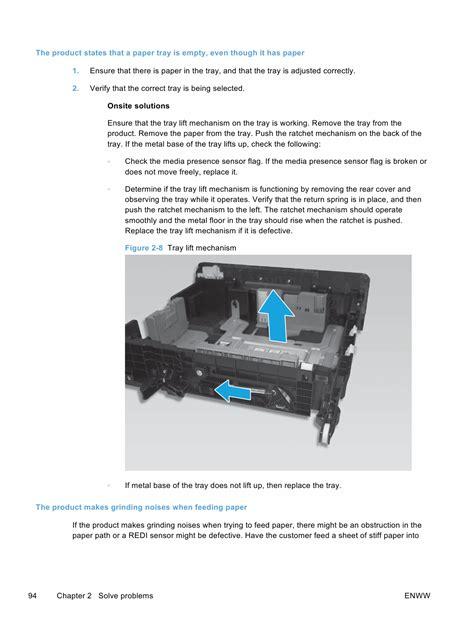 Printer Hp Officejet Pro X576 hp officejet pro x476 mfp x576 mfp troubleshooting manual