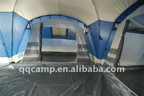 high quality 3 rooms one large family tent for