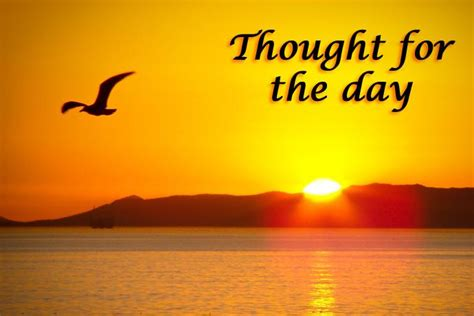 which day day how to present thought for the day course the