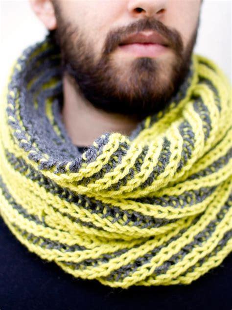 two color brioche crochet