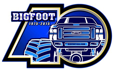 40th Logo 171 Bigfoot 4 215 4 Inc Truck Racing Team