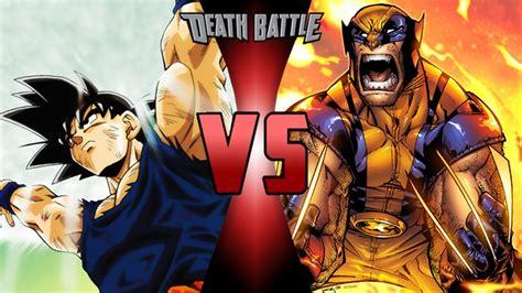 imagenes de wolverine vs superman goku vs wolverine death battle fanon wiki fandom
