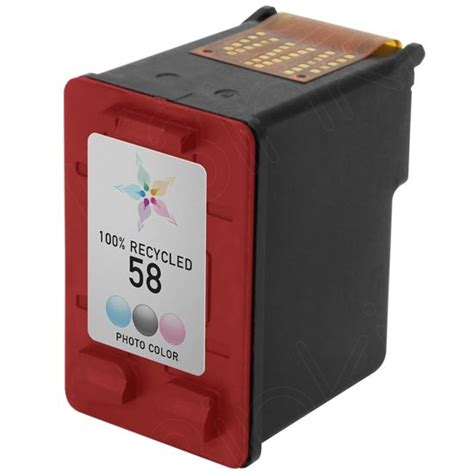 Catridge Hp 58 Color Photo Original remanufactured for hp c6658an 58 photo color ink