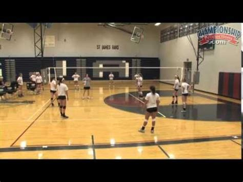setter drills youtube challenge setters with this conditioning drill