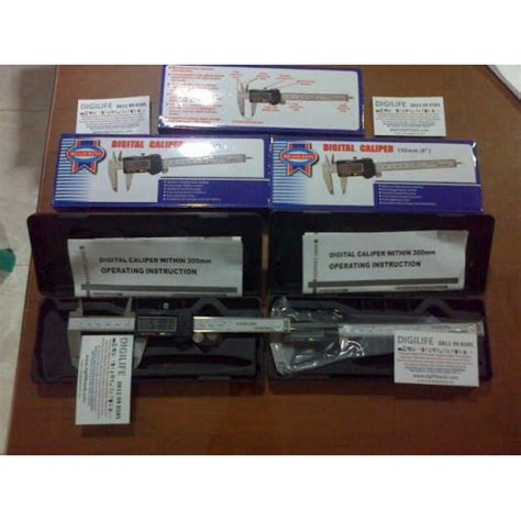 Terlaris Jangka Sorong Digital 300mm Stainless Steel Caliper Vernier 3 digital caliper jangka sorong digital akurasi 0 01mm