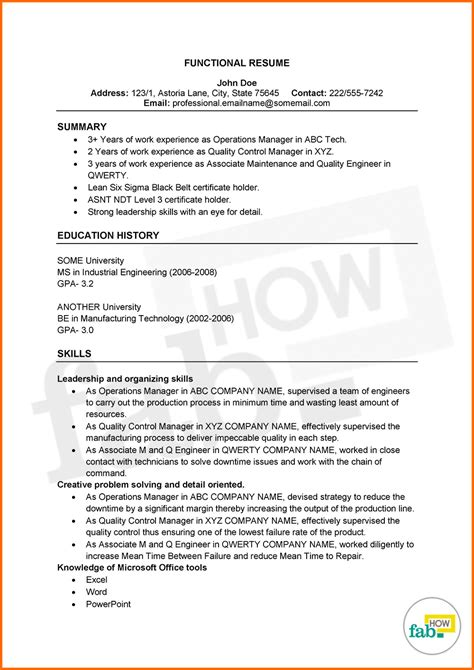 functional resume exle for office manager how to make an outstanding resume get free sles