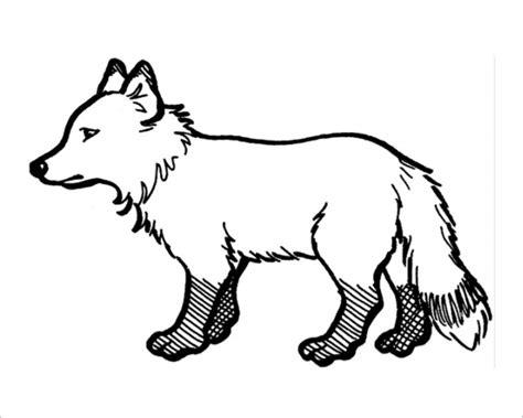 fox template 40 printable fox templates free design templates