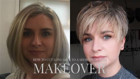 best way to sytle a long pixie hair style how to cut long hair to short pixie cut hairstyle