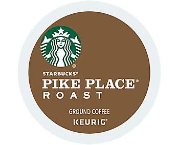 Starbucks Pike Place starbucks 174 pike place 174 roast coffee k cup keurig