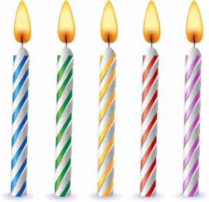 birthday candles free vector in adobe illustrator ai ai