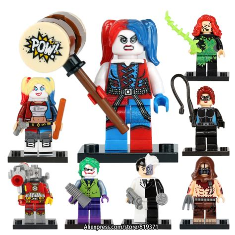 Best Seller Lego Harley Quinn Squad No Box Bootleg scarecrow promotion shop for promotional