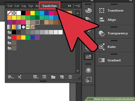 adobe illustrator how to change pattern color how to color in adobe illustrator 12 steps with pictures