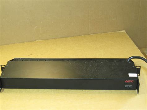 apc ap7900 switched rack pdu 15a 100 120v surge protector