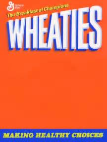 Wheaties Box Template by Wheaties Cereal Box Template Book Covers
