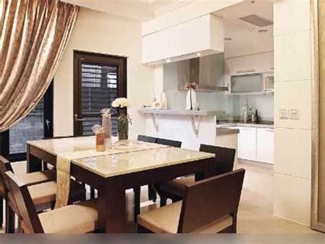 desain dapur gabung ruang keluarga desain dapur serta ruang makan yang modern model rumah