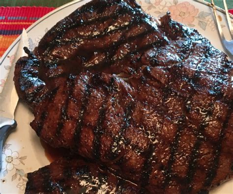 beer  brown sugar steak marinade blue rhino
