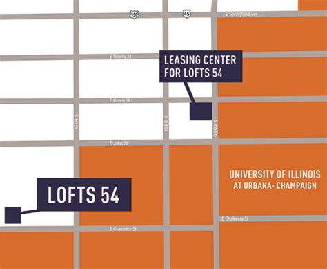 Stadium Lofts Floor Plans by Amenities Lofts54 Student Apartments In Champaign Il
