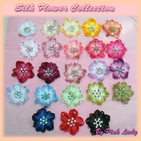 fiori per capelli fiori fiore per capelli silk flower hair clip donna