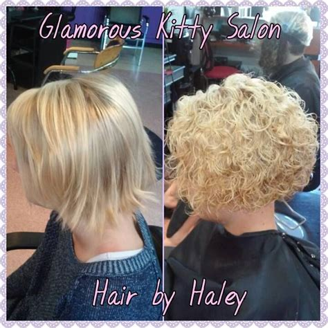 stacked hair with perm image result for stacked spiral perm on short hair