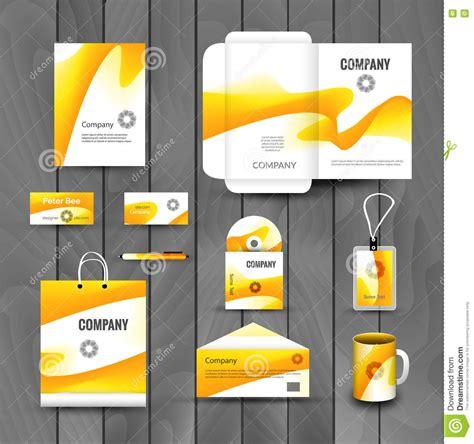 branding design company corporate brand business identity design template layout