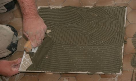 how to install ceramic floor tiles
