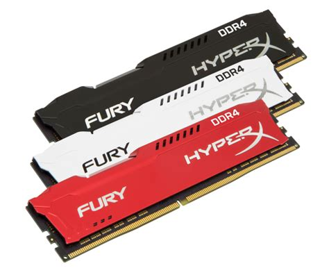 Ram Hyperx Fury hyperx fury ddr4 ram gets new colors up to 2666mhz frequency and amd ryzen support