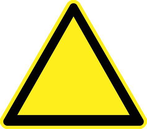 warning sign clipart blank warning sign